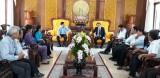 Bí thư Tỉnh ủy Long An gặp gỡ Đoàn đại biểu dự Đại hội đại biểu toàn quốc Hội Nông dân Việt Nam lần thứ VII