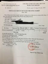 """Chi Cục thuế TP.Tân An có """"cẩu thả"""" trong giấy báo gửi người nộp thuế?"""
