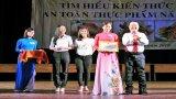 Đức Hòa đoạt giải Nhất Hội thi tìm hiểu kiến thức về an toàn thực phẩm