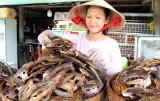Nhộn nhịp mùa khô cá đồng dịp tết