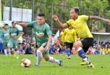 Xác định 4 đội bóng vào vòng bán kết giải bóng đá Hiệp hội sản xuất thanh long