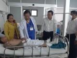Vụ TNGT tại ngã tư Bình Nhựt: Sức khỏe các nạn nhân bị thương đang điều trị tại Long An đã ổn định