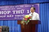 Ông Phan Văn Mãi được bầu làm Chủ tịch Hội đồng Nhân dân tỉnh Bến Tre