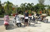 Đồn Biên phòng Bình Thạnh bắt đối tượng vận chuyển xe máy qua biên giới