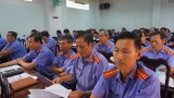 Viện kiểm sát nhân dân tỉnh Long An triển khai công tác kiểm sát năm 2019