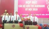 Agribank Chi nhánh tỉnh Long An họp mặt cán bộ hưu trí