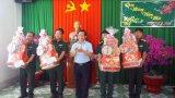 Phó Chủ tịch UBND tỉnh Long An - Nguyễn Văn Được chúc Tết các đơn vị làm nhiệm vụ tại Đức Huệ, Đức Hòa