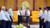 Hội thánh Tin lành thăm, chúc tết lãnh đạo tỉnh Long An