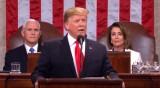 Tổng thống Donald Trump lần thứ hai đọc thông điệp liên bang