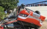 Lật xe khách ở Bình Thuận nhiều người nước ngoài bị thương