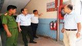 Đoàn Đại biểu Quốc hội Long An giám sát phòng cháy, chữa cháy tại doanh nghiệp