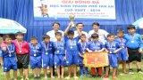 Tân An: Bế mạc Giải bóng đá học sinh Tiểu học và học sinh THCS