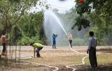 Thủ Thừa: Cảnh báo nguy cơ cháy rừng