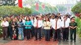 Dâng hương tưởng niệm 70 năm Ngày mất đồng chí Hồ Văn Long