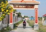 Tân Trạch: Quyết tâm được công nhận lại xã văn hóa trong thời gian không xa