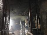 Hỏa hoạn thiêu rụi nhiều căn nhà ở huyện biên giới An Phú