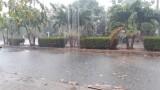 Vĩnh Hưng: Mưa lớn làm giải nhiệt những ngày nắng nóng