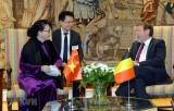 Chủ tịch Quốc hội mong muốn Bỉ tiếp tục ủng hộ việc phê chuẩn EVFTA