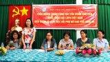 TW Hội Liên hiệp Phụ nữ Việt Nam làm việc với Chi hội phụ nữ khu Phố Bình An, phường 3, TP.Tân An
