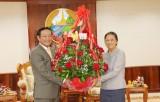 Lãnh đạo Đảng, Nhà nước Việt Nam chúc mừng Lào nhân dịp Tết cổ truyền