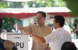 Đương kim Tổng thống Indonesia Widodo tạm dẫn đầu bầu cử tổng thống
