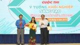Thí sinh khuyết tật Huỳnh Thị Kim Hoàng đoạt giải nhất Cuộc thi Ý tưởng khởi nghiệp sáng tạo