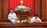 Tiểu ban Đại hội Đảng XIII làm việc với Thường vụ Tỉnh ủy Tiền Giang