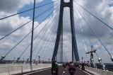 Khánh thành và thông xe cầu Vàm Cống, cầu dây văng thứ 2 vượt sông Hậu
