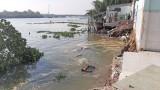 Sạt lở 8 căn nhà tại xã Lợi Bình Nhơn