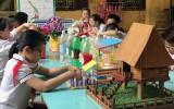 Kỷ niệm ngày quốc tế thiếu nhi 1-6: Phát huy sự sáng tạo của thiếu nhi