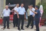 Khảo sát tiến độ đầu tư Dự án Khu thương mại tại huyện Thạnh Hóa