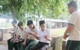 Một ngày của học sinh lớp 12