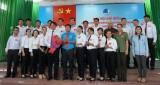 Đồng chí Hà Ngọc Diệp giữ chức vụ Chủ tịch Hội Liên hiệp Thanh niên Việt Nam TP.Tân An, nhiệm kỳ 2019 - 2024