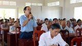 Đoàn Đại biểu Quốc hội tiếp xúc cử tri tại huyện Tân Trụ