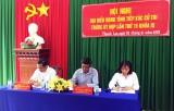 Phó Bí thư Thường trực Tỉnh ủy, Đại biểu HĐND tỉnh Long An – Nguyễn Văn Được tiếp xúc cử tri Bến Lức