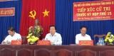 Cử tri Đức Hòa phản ánh nhiều vấn đề bức xúc đến Đại biểu HĐND tỉnh Long An