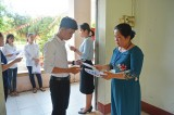 Thí sinh các địa phương trong tỉnh Long An bước vào kỳ thi THPT Quốc gia 2019