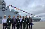 Đoàn Việt Nam tham dự Triển lãm Hải quân Quốc tế IMDS-2019