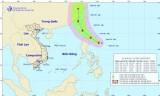 Áp thấp nhiệt đới ở phía Đông đảo Luzon đã mạnh lên thành bão