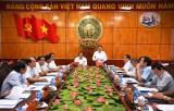 Đoàn kiểm tra của Ban Bí thư Trung ương Đảng làm việc tại Long An về thực hiện Nghị quyết Trung ương 4, khóa XII và các quy định nêu gương