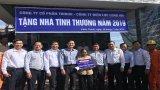 Công ty Điện lực Long An trao 4 nhà tình thương tại Châu Thành