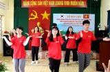Đoàn thanh, thiếu niên tỉnh Chungcheongnam tình nguyện, giao lưu văn hóa tại Long An