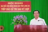 Đại biểu HĐND tỉnh Long An tiếp xúc cử tri sau kỳ họp thứ 15