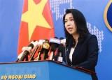 Yêu cầu Trung Quốc chấm dứt ngay vi phạm tại vùng biển Việt Nam