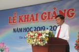 Chủ tịch UBND tỉnh – Trần Văn Cần dự khai giảng Trường THPT Chuyên Long An