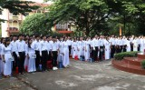 Trường THPT Đức Huệ tưng bừng khai giảng năm học mới