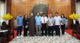 Lãnh đạo tỉnh Long An gặp mặt đại biểu dự Đại hội đại biểu toàn quốc MTTQ Việt Nam lần IX