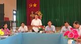Tỉnh Đoàn Long An giám sát việc phát huy các thiết chế văn hóa, thể dục thể thao tại Tân Thạnh
