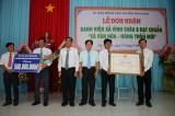 Vĩnh Châu B đón nhận danh hiệu xã văn hóa - nông thôn mới