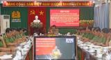 Quán triệt thực hiện Chỉ thị số 35 của Bộ Chính trị về Đại hội Đảng các cấp trong CAND